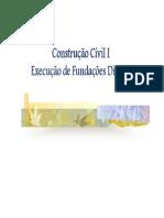 Aula - Fundações Diretas