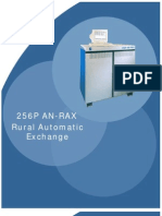256P an-RAX Rural Automatic Exchange