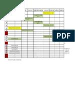 Orientation Timetable Proposal
