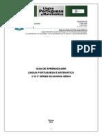 3ª Série - Guias de Português e Matemática - Aluno