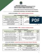 Anexo i - Das Vagas Professor Campina Grande