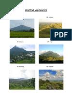 Inactive Volcanoes
