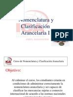 Nomenclatura y Clasificación Arancelaria ICA