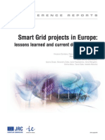 Smart Grid Projects in Europe Lessons Learned and Current Developments