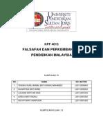 Kump 10-Organisasi & Pentadbiran Pendidikan Di Malaysia