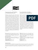 La Comunicacion y La Estetica en Los Procesos de Virtualizacion