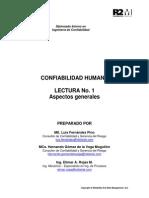 Lectura 1 Confiabilidad Humana