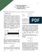 informe dilatacion termica