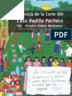 La Sentencia de La Corte IDH vs. Estados Unidos Mexicanos Caso Radilla Pacheco AFADEM CMDPDH