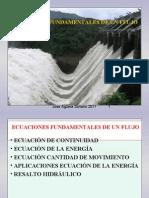 Fluidos 3. Ecuaciones Fundamentales de Un Flujo