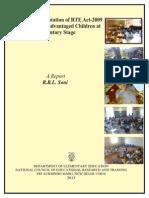 Status Report Rte 2013