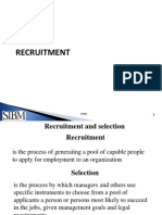 HRM Section 3 Recruitment & Selection.ppt