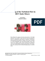 Turbulence Hev Static Mixer