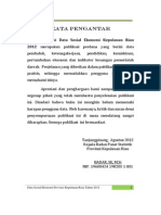 Data Sosial Ekonomi Kepri 2012 Revisi 060912