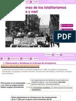 T. 10 El Ascenso de Los Totalitarismos Fascista y Nazi