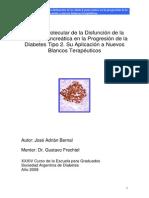 Análisis Molecular de la Disfunción de la Célula B Pancreática en la Progresión de la Diabetes Tipo 2. Su Aplicación a Nuevos Blancos Terapéuticos