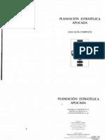 001 Libro Planeación estrategica aplicada Leonard Goostein