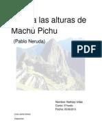 Identidad Machu Pichu