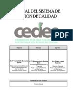 Manual de Calidad Cedes1