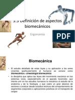 CLASE 1.3 Biomecanica