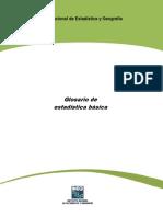 Diccionario de Terminos Estadisticos
