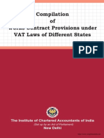 Compilation of Works Contract Provisions Under VAT Laws o