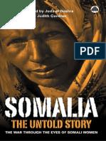 Somalia - The Untold Story through eyes ofwomen