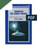 019. Cronicas Del Gran Tiempo - Fritz Leiber