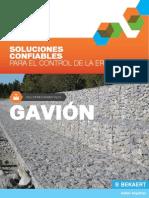 AF CatalogoSolucionesAmbientales Gavion