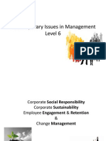 54048583 Contemporary Issues in Management