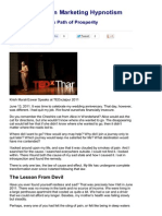 Marketing Hypnotism Krish Murali Eswar's Path of Prosperity