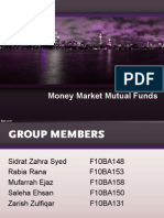 Money Market Mutual Funds ORIGINAL