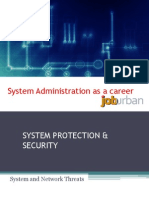 Network Administration concept and career
