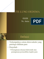 Acute Lung Oedema