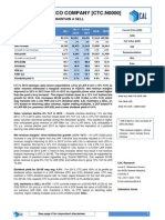 CTC - 2013 Earnings Note - SELL - 12 Feb 2014