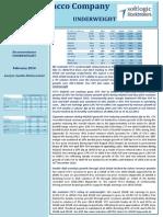 CTC - Corporate Update - 10.02.2014