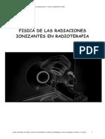 Fisica de La Radiaciones Ionizantes en Radioterapia