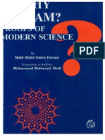 Why Islam ? Proofs of Modern Science