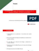 GdR y Adaptacion Cambio Climatico