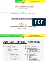 3.Acid Gas Removal Technology