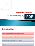 p 8 Ch 6 Export Procedures