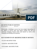 Architecture in Motion