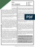 Factsheet Habeas Corpus