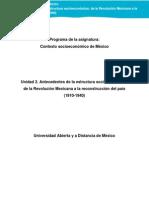 Unidad2.Antecedentes de La Estructura Socioeconomica 130114