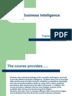 SAP BI basics