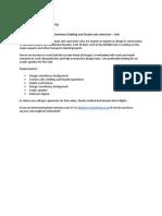 Deputy Design Manager – Aluminium Cladding and Facade sub-contractor – UAE
