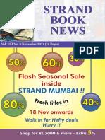 Strand Book News Nov 2013