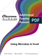 using microbes in food