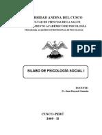 Psicologia Social i 2009-II