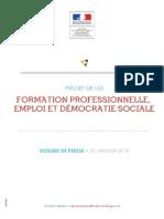 Dp Formation Professionnelle Emploi Et Democratie Sociale